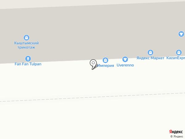 Пельменная на карте Челябинска