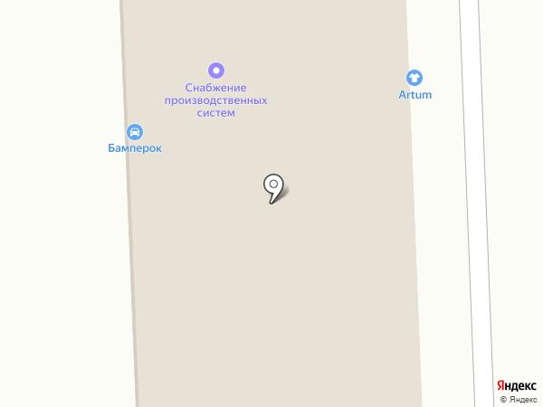 ОКНАС на карте Челябинска