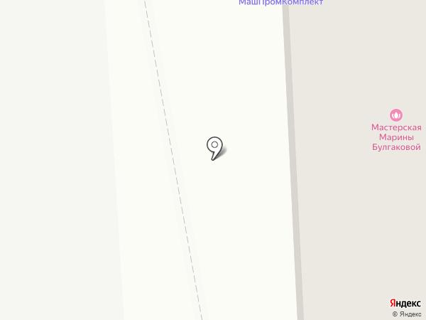 Айрком на карте Челябинска