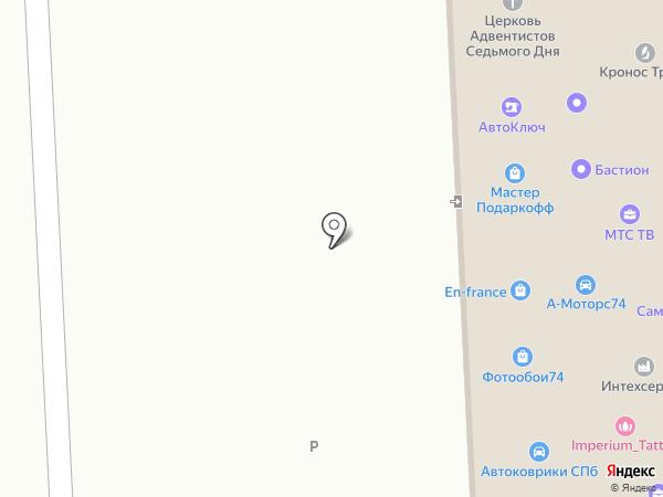 Триколор Plus на карте Челябинска