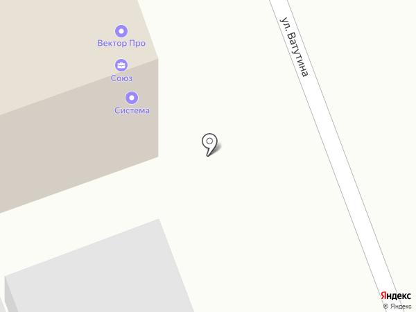 Компания по аренде помещений на карте Челябинска