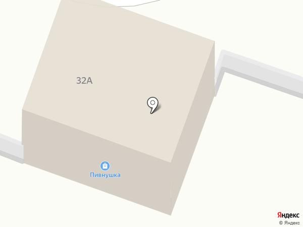 Зебра на карте Челябинска