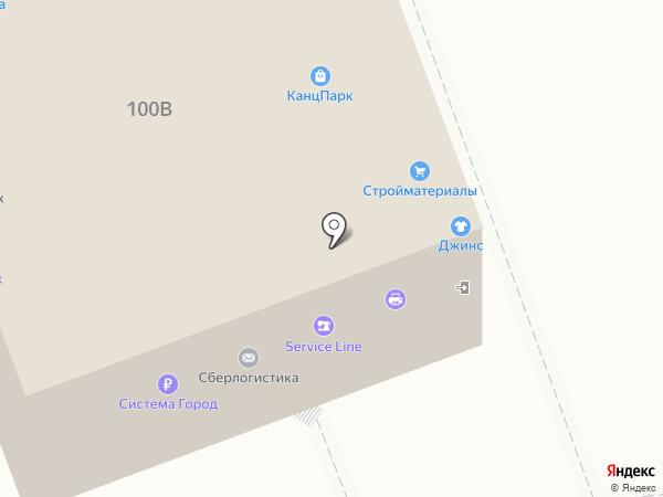 ИСТАР на карте Челябинска