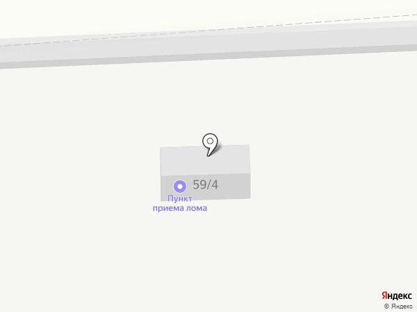 Пункт приема лома на карте Челябинска