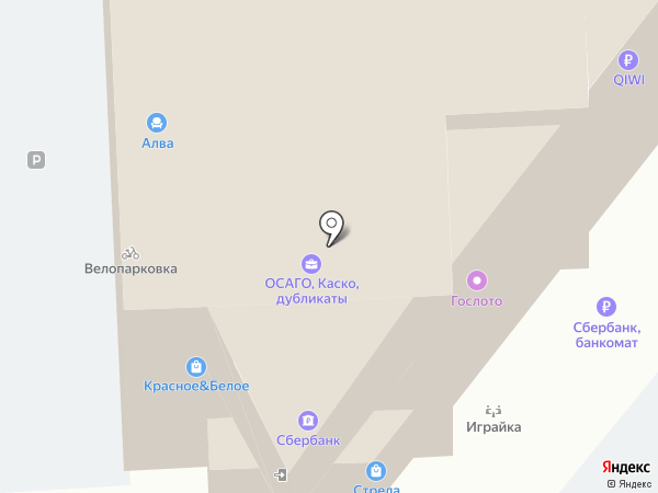 Банкомат, Банк Зенит на карте Челябинска