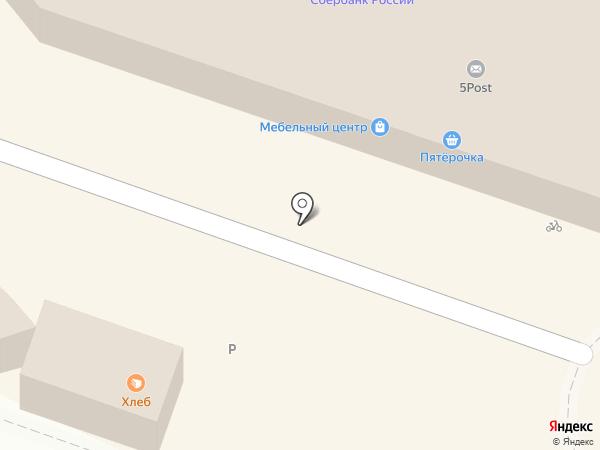Модель на карте Челябинска