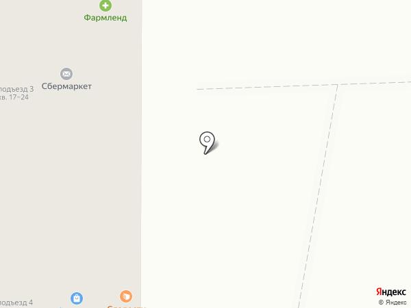 Кружка пенного на карте Челябинска