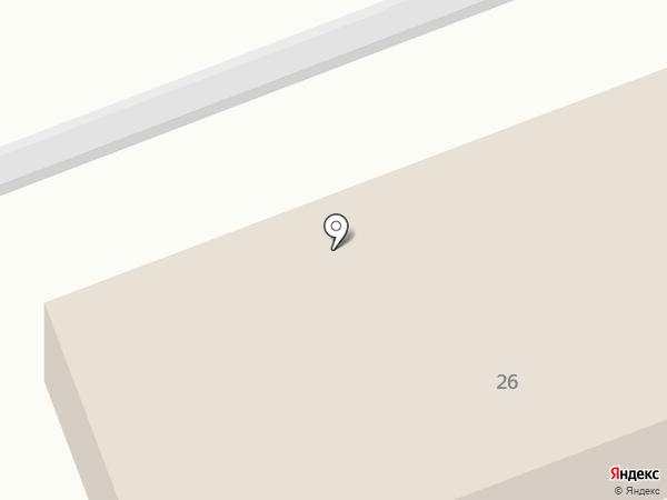 Отдел ГТО и РАС на карте Челябинска