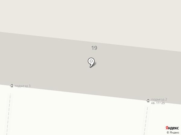 Луч на карте Челябинска