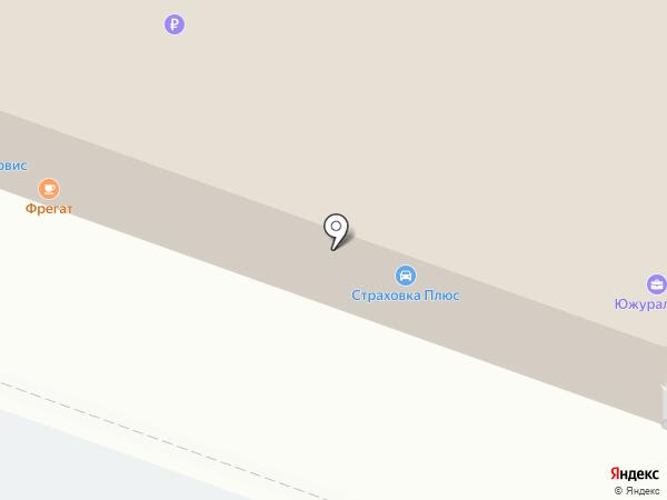 АвтоПартнер 74 на карте Челябинска
