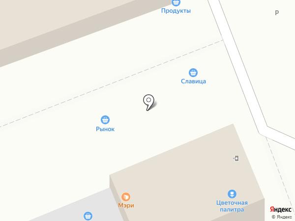 Киоск по продаже фастфудной продукции на карте Челябинска