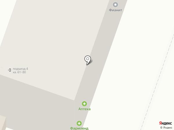 Карандаш на карте Челябинска