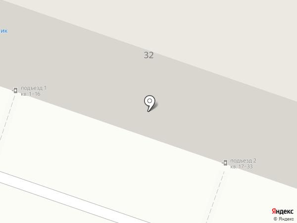 Добрынин на карте Челябинска