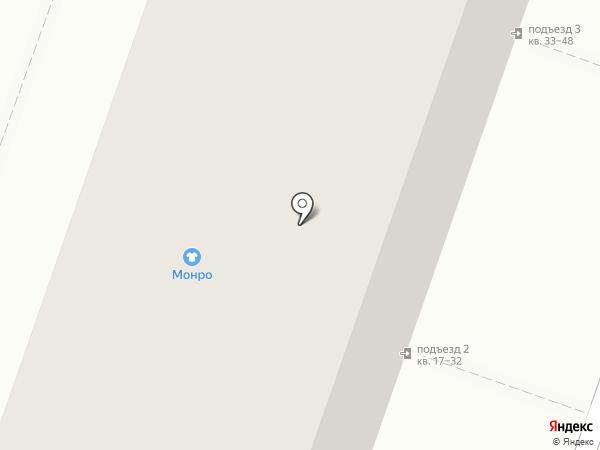 Лана на карте Челябинска
