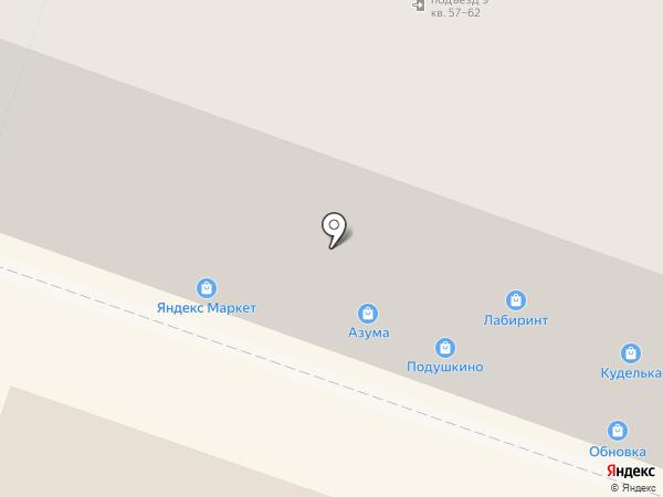 Стройкомснаб на карте Челябинска
