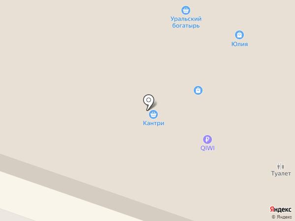 Магазин одежды для беременных на карте Челябинска