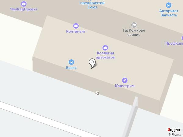 Транспортная компания на карте Челябинска