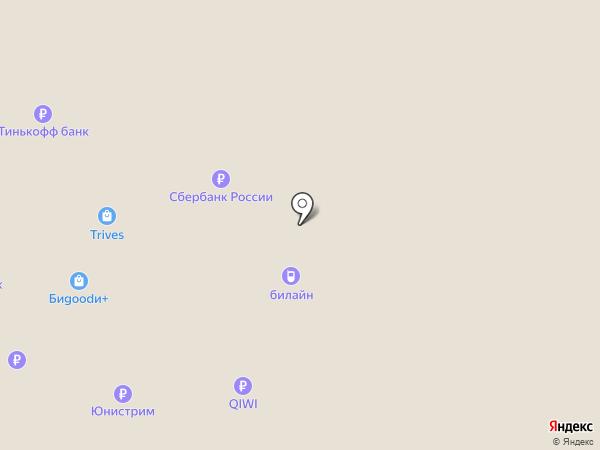 Гослото на карте Челябинска
