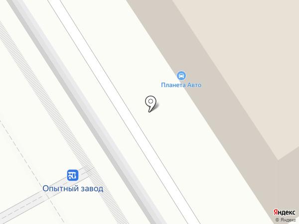 Автогарантия на карте Челябинска