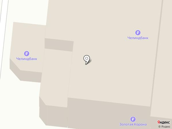 Банкомат, АКБ ЧЕЛИНДБАНК на карте Челябинска