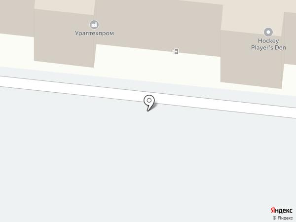 УТЗ на карте Челябинска