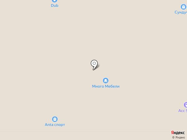 Веселая расчёска на карте Челябинска