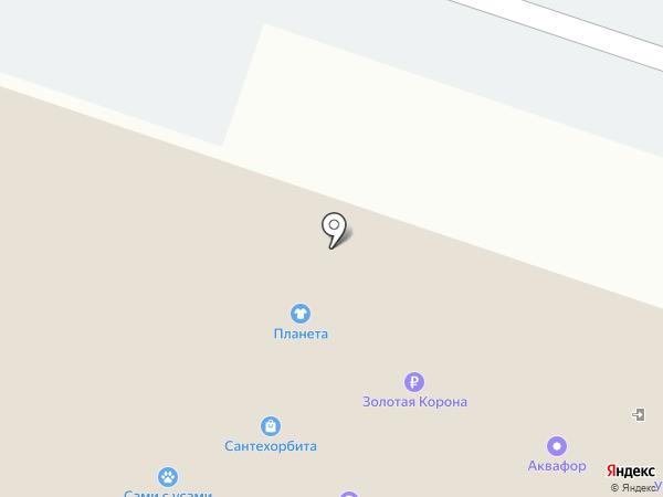 Трикотажница на карте Челябинска