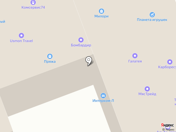 PIZCHON на карте Челябинска