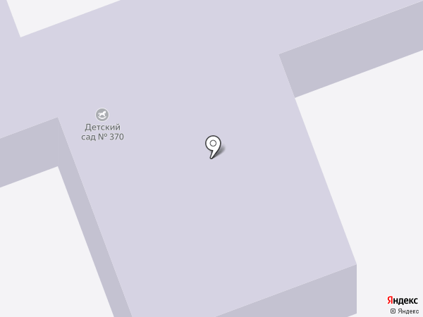 Детский сад №370 на карте Челябинска