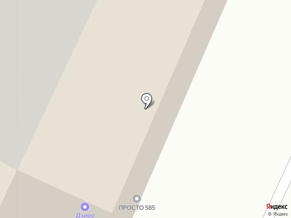 Компоспас на карте Челябинска