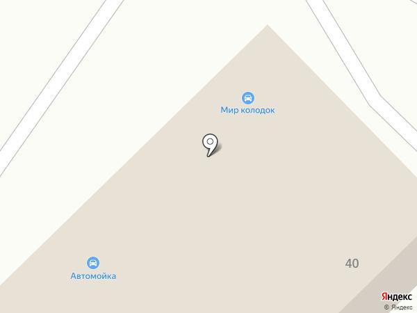 Мир колодок на карте Челябинска