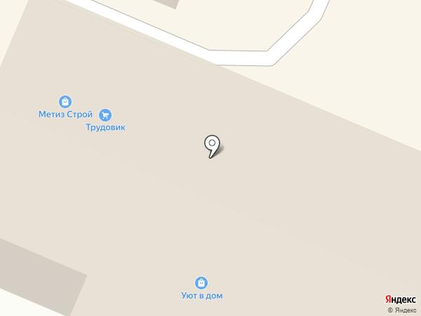 Трудовик на карте Челябинска
