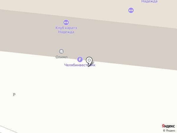 Секция каратэ на карте Челябинска
