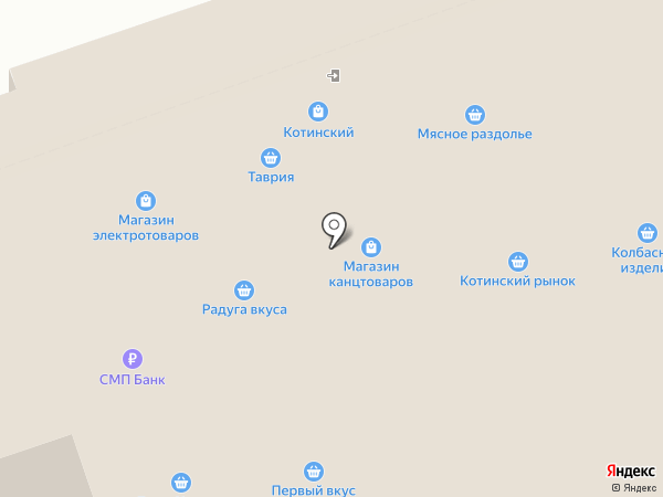 Оптово-розничный магазин на карте Челябинска