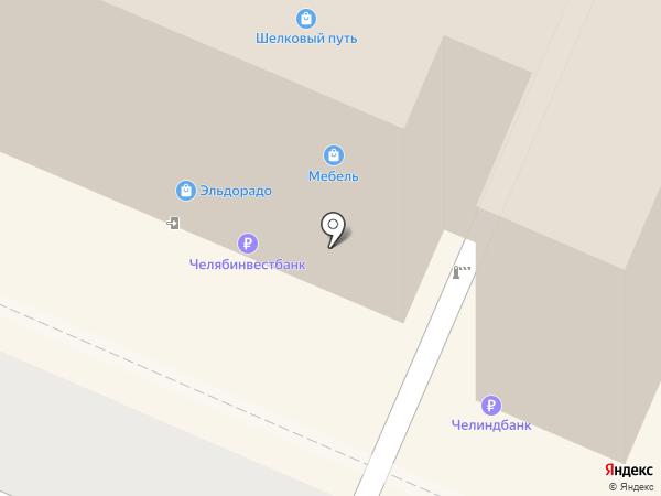 Магазин женской одежды на карте Челябинска