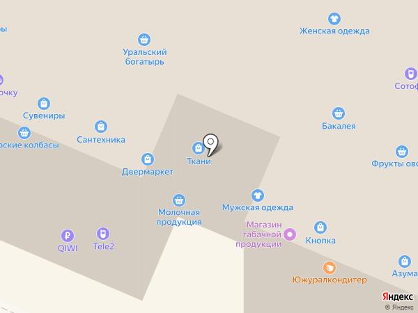 Лига-Света на карте Челябинска