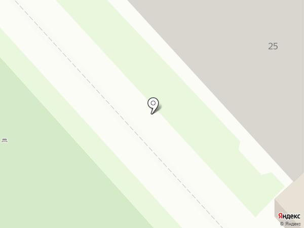 Каскад на карте Челябинска