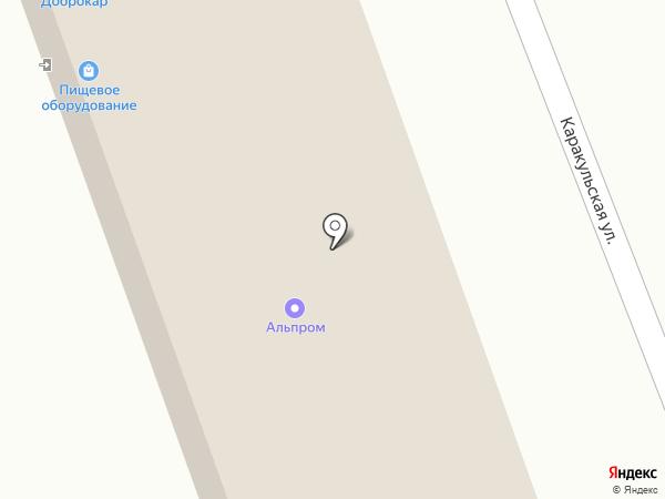 АльПром на карте Челябинска