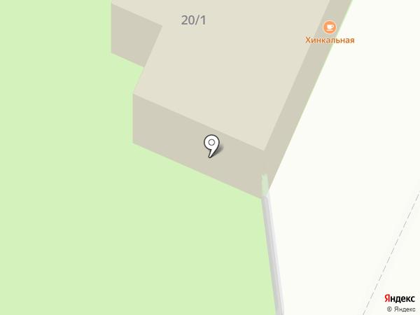 Хинкальная на карте Челябинска