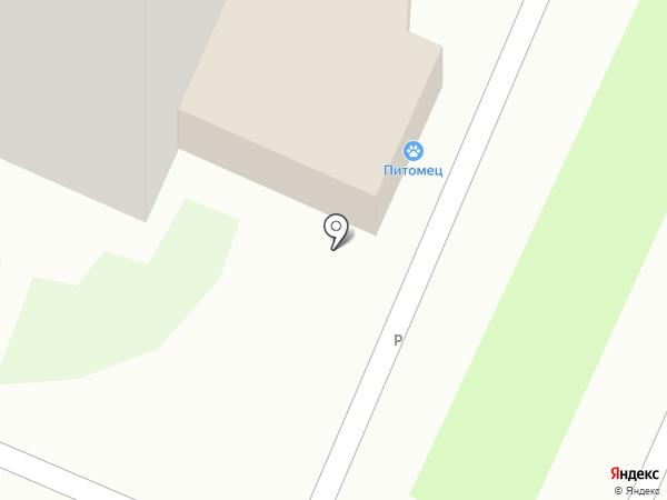 Таврия на карте Челябинска