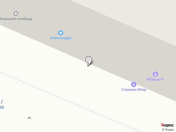 Маковка на карте Челябинска