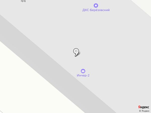 ТЭЦ-1 на карте Челябинска