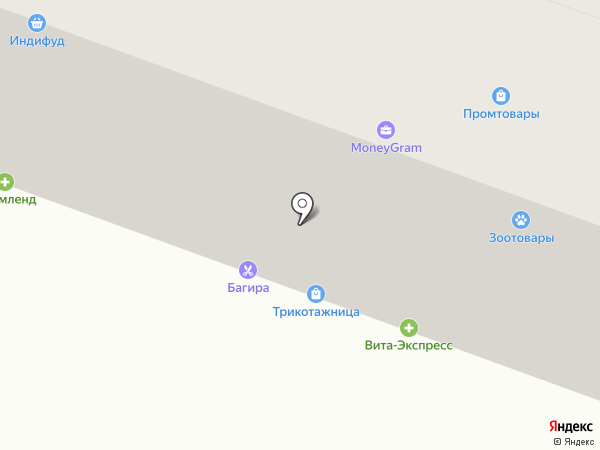 Челябинвестбанк на карте Челябинска