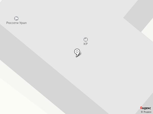 Пласт Терминал74 на карте Челябинска