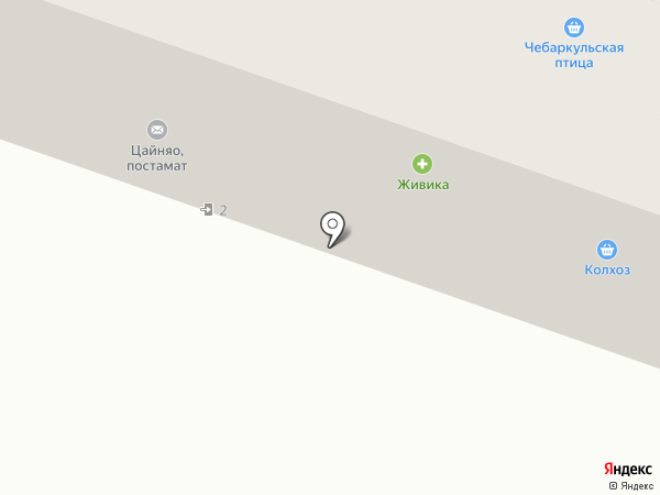 РАВИС на карте Челябинска