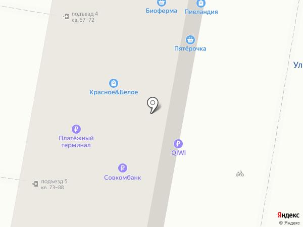 Имидж Оптика на карте Челябинска