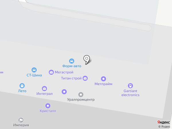 ОНИКС на карте Челябинска