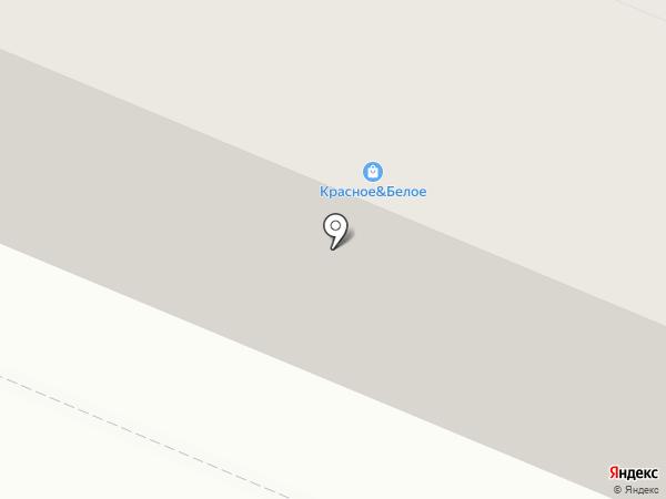 Лисси на карте Челябинска