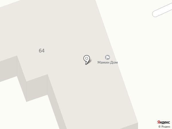 Мамин дом на карте Челябинска