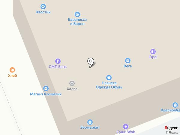 Банкомат, БАНК УРАЛСИБ на карте Челябинска